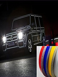 47M Motorcycle Car Automative Reflective Tape Stickers  Styling More Position (Assorted Colors)