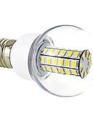 E26/E27 7 W 56 SMD 5730 700 LM Warm White G Globe Bulbs AC 220-240 V