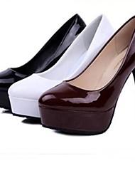bombas de tacón de aguja de las mujeres por los zapatos del partido / de oficina