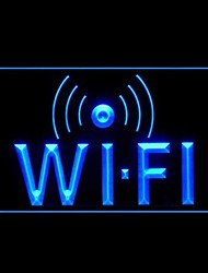 Luz Wi-Fi a Internet Advertising LED Entrar