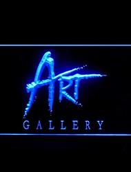 Galerie d'art Publicité LED Connexion