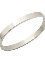 u7® alta calidad caliente de la venta 316l titanio Pulsera de acero para los hombres las mujeres nunca se desvanecen