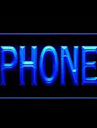 Telefone Nova Geração Publicidade LED Sign