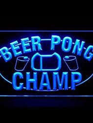 beer pong campeão publicidade levou sinal de luz
