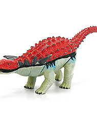 Assembly Discosauricus Dinosaur Model Rubber Educational Action Figures Toy