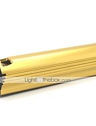 LT-XL884 Cigarrete Briquet 3 Mode 1xCree XML Q5 Mini lampe de poche LED (500LM.Buil en Battery.Golden)