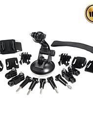 GoPro Accessoires Bevestiging / Toebehoren Kit Voor Gopro Hero 2 / Gopro Hero 3 Automatisch / Sneeuwmobielen / motocycle / Fietsen