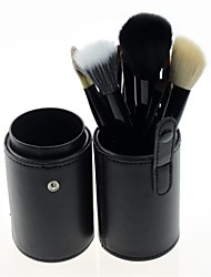 Newest 12Pcs Pro High Quality Goat Hair Makeup Brush Set with Colorful Brush Cylinder Tube 02#
