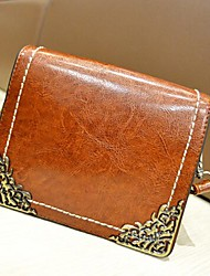 Metal filigrana de Feige Mulheres Ferro Canto Retro Mini Packet Messenger Bag Ombro
