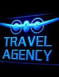 Travel Agency Advertising LED Light Sign