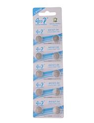 Goop lr1142 1.5v кнопка высокой емкости батареи (10шт)