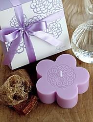 Plum Romantic Scented Candles