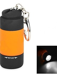 USB Rechargeable Water Resistant 0.5W LED White Flashlight