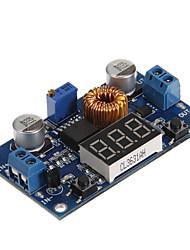 hzdz 5a DC-DC Module réglable step-down w / voltmètre - bleu