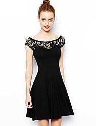 Women's Dresses , Lace Casual Maxlove