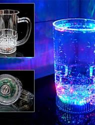 arco-íris indutivo acrílico xícara de água cor levou cerveja cor da água indução de flash copo mudando canecas
