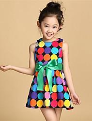 BB&B 2014 Girl's New Summer Same as Superstar Dots Noble Elegant Dress