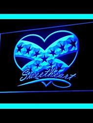 Sweet Heart Advertising LED Light Sign