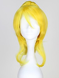 Love Live Beloved Ellie Light Yellow Long Wavy Anime Cosplay Wig