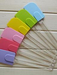 Gel Shovels Cream Scraper,Silicone 25.6×5.3×5.3 CM(10.1×2.1×2.1 INCH)
