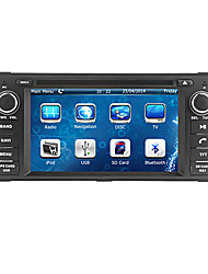 "cusp® 6.2 ""2 din carro dvd player para 2007-2010 jeep / comandante / wrangler com bluetooth, gps, ipod, RDS, pode-bus"