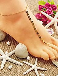 shixin® classiques Shinning or sandales aux pieds nus (1 pc)