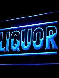 barra libre de publicidad de vinos de licor llevó la muestra de la luz