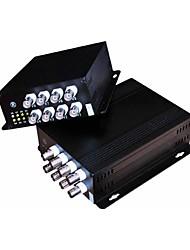 8-канальный цифровой видеорегистратор оптический трансивер Пара