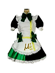 Inspired by Love Live Kotori Minami Anime Cosplay Costumes Cosplay Suits Patchwork Black Short Sleeve Dress / Apron