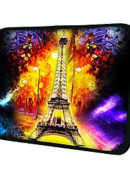 Elonno Eiffel Tower Neoprene Laptop Sleeve Case Bag Pouch Cover for 10'' Samsung Dell HP iPad1/2/3/4/5