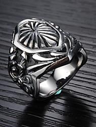Homens à moda fresco ambição de alta qualidade Produtos Titanium Anel Aço