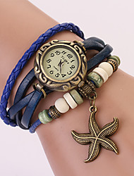 C&D Buckle Starfish Watch(Blue)