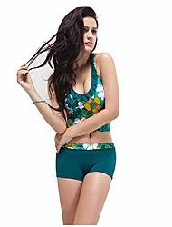 Feminino Tamanho-plus Magro Set Swimwear