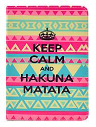 Hakuna Matata tattoo case voor de iPad mini 3, ipad mini 2, ipad mini