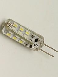 1.5W G4 LED a pannocchia 24 SMD 3014 80 lm Bianco caldo Decorativo DC 12 V 1 pezzo
