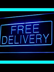 Free Delivery Advertising LED Light Sign