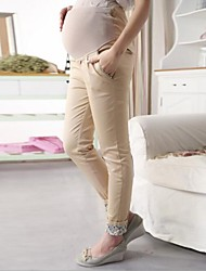 Maternity Bodycon Skinny Pants , Cotton Micro-elastic