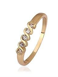 SSMN Women's Gold Plating Ringjavascript:;