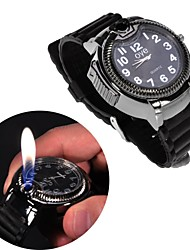 Creative Watch Style Metal Lighters Toys (Black)