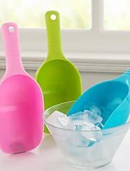 plástico conveniente pala alimentos multifuncional (color al azar)