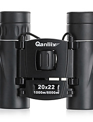 QANLIIY 20x22 HD Night Vision Binoculars Mini Telescope 1000m/6000m
