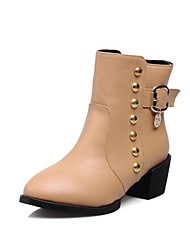 botines zapatos de moda, ji grueso de las mujeres más colores disponibles