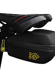 COOLCHANGE Black Cycling Hard Shell Saddle Bag