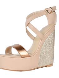 bc eleganten Frauen Keilabsatz-Sandalen