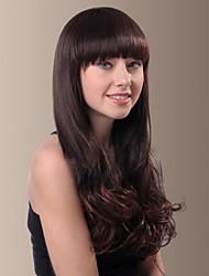 Sweet Fluffy Long Wavy Synthetic Hair Wigs