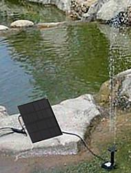 solaire pompe à eau étang de cycle fontaine de rocaille fontaine