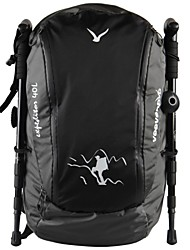 Men's Big Size USA Style PU Hiking Backpack