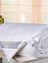Pure Silk Quilt White Solid Comforter