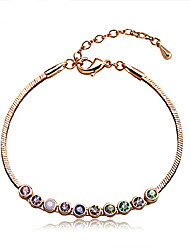 Daisy Women's Fashion Colorful Diamond Bracelet