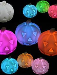 citrouille rotocast lumière de nuit de changement de couleur